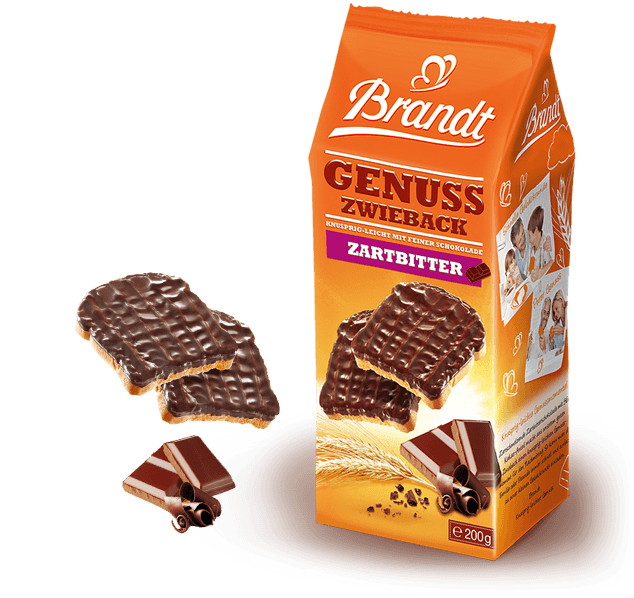 Brandt Zwieback Delight Dark Chocolate
